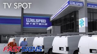FASTSIGNS® 2017 TV Commercial (Now Business is Rolling In)