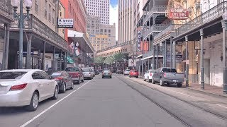 Plaquemine (LA) United States  city pictures gallery : Driving Downtown - Royal Street - New Orleans USA