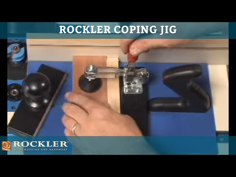 Rockler Rail Coping Jig
