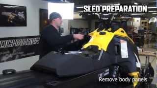 10. Aerocharger Install | Part 1 Ski-Doo E-TEC
