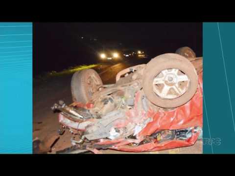 Acidente deixa um morto e três feridos na PR 453, em Borrazópolis