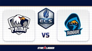 PRIDE vs Rogue, map 1 mirage, ECS Season 3 EU Development League