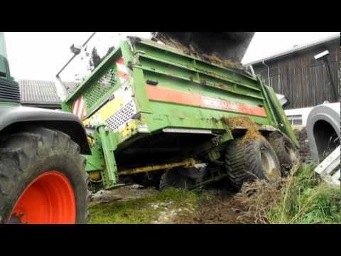 Bergung von landwirtschaftlichen Gerät