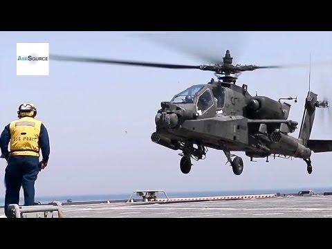 UH-60 Black Hawk and AH-64D Apache...