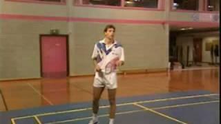 badminton training part 3