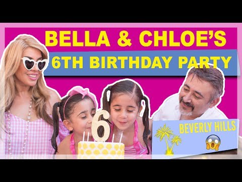 The TWINS 6th Birthday Party In Beverly Hills The Royal Twins