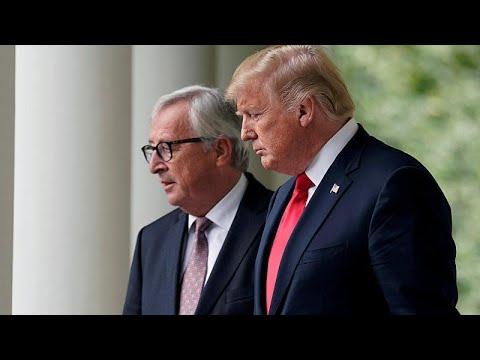 Ε.Ε.-Η.Π.Α.: Εμπορική ανακωχή έφερε η συνάντηση Τραμπ-Γιούνκερ…