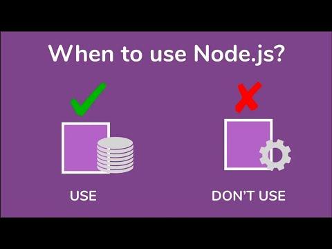 When and when not to use Node.js - Node.js Basics [06] - Java Brains