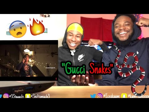 "B.LOU ""Gucci Snakes"" (WSHH Exclusive - Official Music Video) REACTION!"