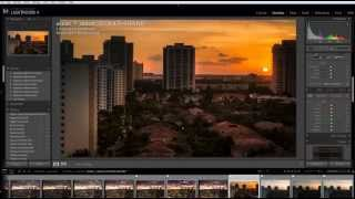 In this video, I show you how to take a city sunset shot without the need of HDR and taking advantage of your camera's dynamic range. In this case I really wanted to show the buildings and the sun set rays hitting them. I also show you how to edit with LR 4 to get the desired effect.