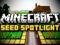 Minecraft Seed Spotlight #3 - JUNGLE NPC VILLAGE (HD)
