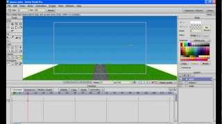3D-анимация движения на Anime Studio Pro