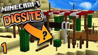 Minecraft: DigSite Modded Survival Ep. 1 - Mysterious World