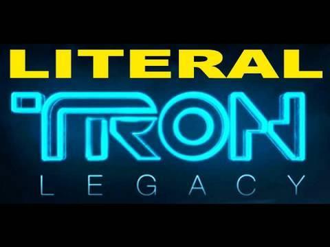 LITERAL Tron Legacy Trailer Parody