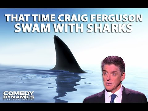 Craig Ferguson - Shark Week (Stand up Comedy)