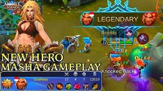 New Hero Masha Gameplay - Mobile Legends Bang Bang