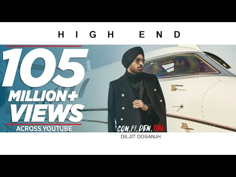 Official Video: High End | CON.FI.DEN.TIAL | Diljit Dosanjh | Song 2018 (видео)