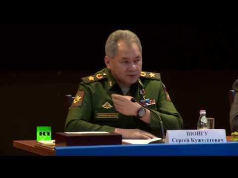 Шойгу ответил на слова Фэллона о «медведе который суёт свои лапы в Ливию» - DomaVideo.Ru