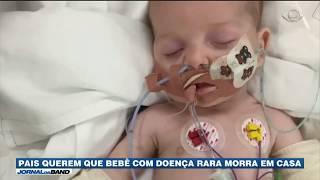 Os pais do bebê inglês que sofre de uma doença rara deram início a uma nova batalha judicial, dessa vez pelo direito de a criança morrer em casa.