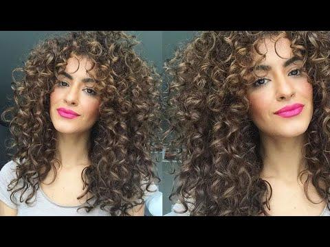 Easy hairstyles - 8 PENTEADOS TUMBLR PARA CABELOS CACHEADOS  By Sarah Angius