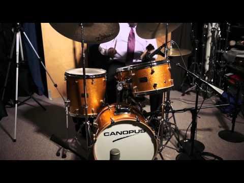 [CANOPUS / カノウプス] Kenny Washington plays Neo Vintage NV60-M1 Drum KIt
