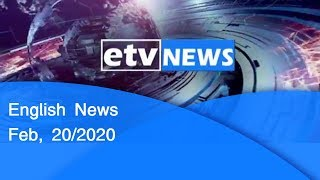 English News Feb, 20/2020