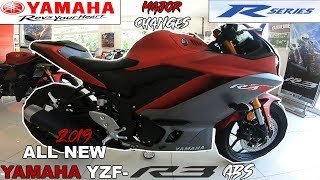 10. ALL NEW YAMAHA YZF-R3 ABS 2019   MAJOR CHANGES