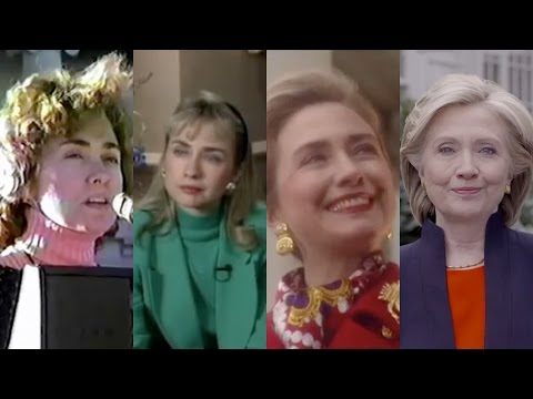 Video Hillary Clinton's accent evolution (1983–2015) download in MP3, 3GP, MP4, WEBM, AVI, FLV January 2017