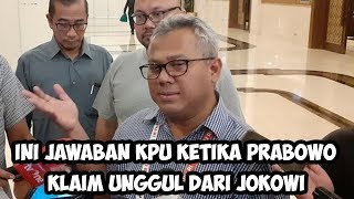 Video Ini Jawaban KPU Ketika Prabowo Subianto Klaim Unggul dari Jokowi MP3, 3GP, MP4, WEBM, AVI, FLV April 2019