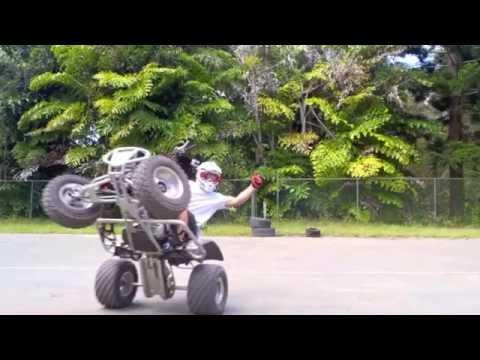 Paul Hannam Quad Trick Riding!