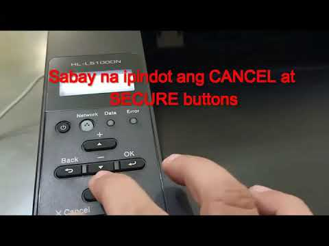"""How to fix """"Replace Toner"""" error on Brother Printer HL-L5100DN"""