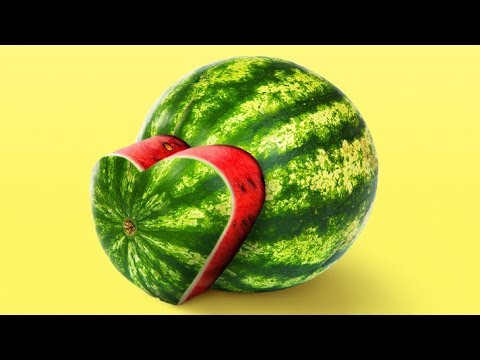 25 TRICKS TO CUT FRUITS THE RIGHT WAY