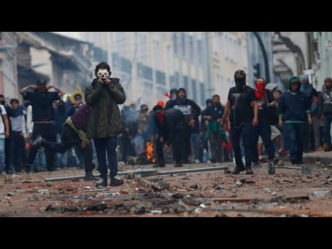 Ecuador: Heftige Ausschreitungen bei Protesten nach A ...
