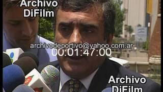 EL EX GOBERNADOR DE LA PROVINCIA DE CATAMARCA, RAMON SAADI HABLA SOBRE LA CONCILIACION CON EL...