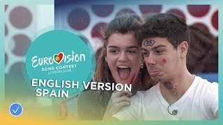 Video Amaia y Alfred - Your Song (Tu Canción) - English Version - Spain - Eurovision 2018 MP3, 3GP, MP4, WEBM, AVI, FLV Juni 2018