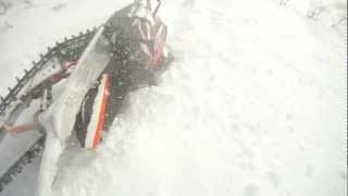 5. 2012 Arctic cat M8 sno pro crash