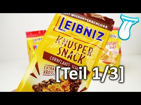 Leibniz Knusper SNACK  [TEIL 1/3] | CORNFLAKES mit Schokolade essen | IN ALLER MUNDE
