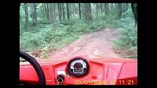 3. 2012 Polaris RZR 570 Saegertown PA Trail loop