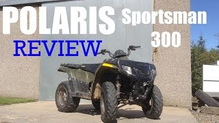 2. POLARIS SPORTSMAN 300 REVIEW || Real Life Reviews