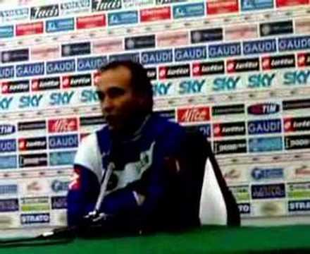 Rueda de prensa de Pasquale Marino