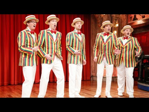 Justin Timberlake Does Awesome Barbershop Quartet Version Of SexyBack! [VIDEO]