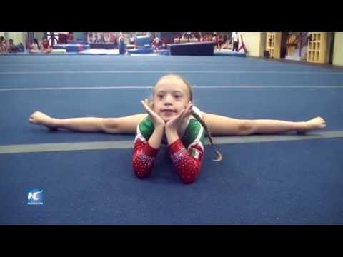 Watch video Niña con síndrome de Down competirá a nivel mundial en gimnasia artística