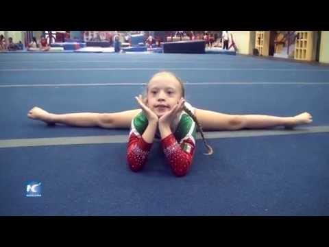 Veure vídeoNiña con síndrome de Down competirá a nivel mundial en gimnasia artística