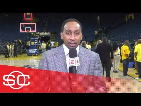 Stephen A. reacts to Warriors' Game 3 blowout over Rockets  SportsCenter  ESPN