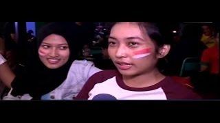 2 Gadis Cantik Berikan APRESIASINYA Pada Perjuangan TIMNAS Partai Puncak ( MANTAP )