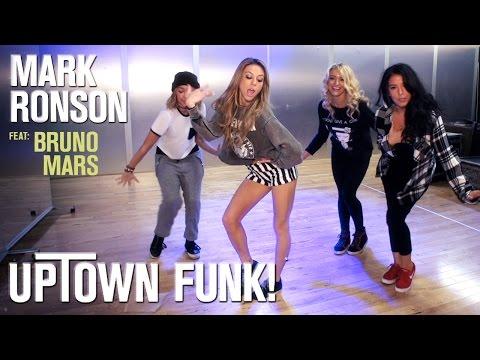Mark Ronson – Uptown Funk ft. Bruno Mars (Dance Tutorial)