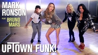 Mark Ronson - Uptown Funk ft. Bruno Mars (Dance Tutorial) | Mandy Jiroux