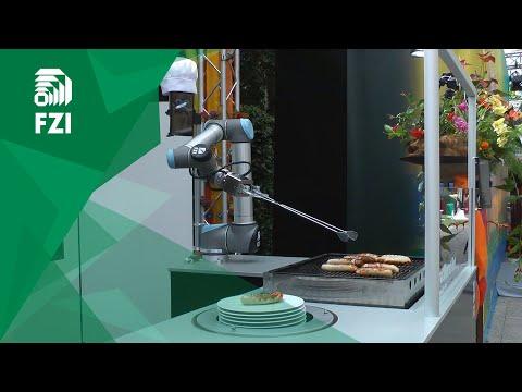 Robotti grillailee makkaraa – Hyvin hoitaa homman
