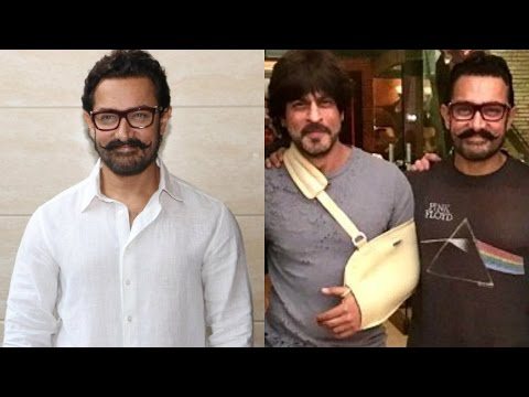 Aamir Khan Talks About MEETINGS With Shah Rukh Khan