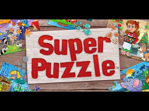 Video of Kids Super Jigsaw Puzzles Free